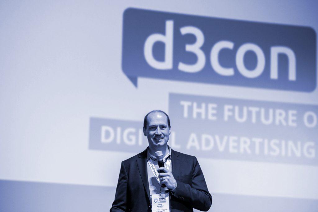 Account Based Marketing-Speaker Niko Bender spricht auf der d3con
